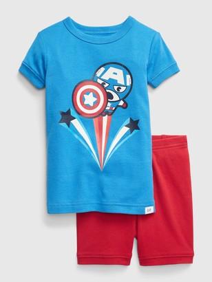 Marvel babyGap | Captain America PJ Set