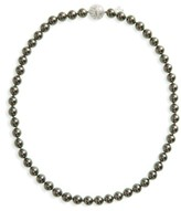 Majorica Women's 8Mm Round Simulated Pearl Strand Necklace