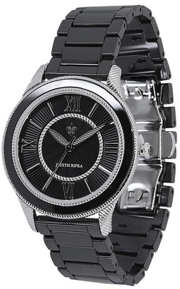Judith Ripka Madison Ceramic Bracelet Watch