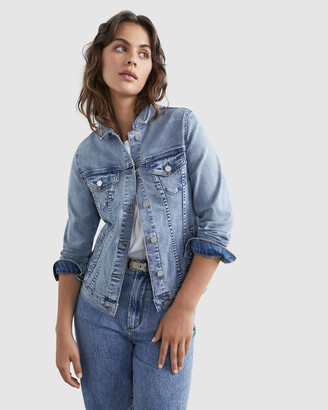 French Connection Women's Coats & Jackets - Vintage Denim Jacket - Size One Size, 8 at The Iconic