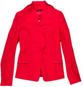 Maison Margiela Wool Collarless Jacket
