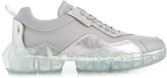 Jimmy Choo diamond effect trainers
