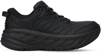 Hoka One One Bondi Sr Leather Running Sneakers