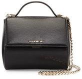 Givenchy Pandora Box Mini Palma Crossbody Bag, Black