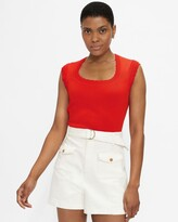 Thumbnail for your product : Ted Baker Scallop Detail Knitted Top
