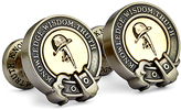 Robert Graham 'Knowledge Wisdom Truth' Cuff Links