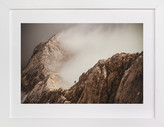 Minted Man and a Mountain Art Print