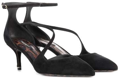 Dolce & Gabbana Bellucci suede pumps