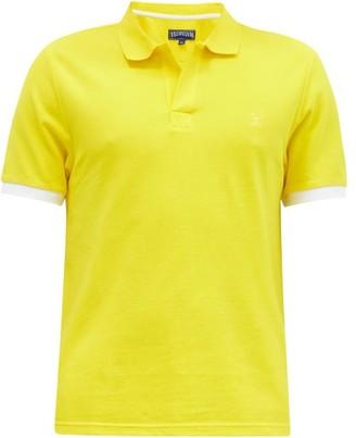 Vilebrequin Palan Tipped-cuff Cotton-pique Polo Shirt - Yellow
