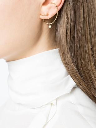 Ana Khouri Left White Diamond Lily Earring