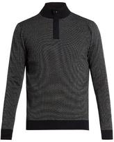 Ermenegildo Zegna Zip-front wool sweater