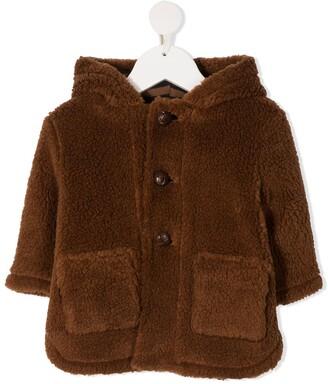 Zhoe & Tobiah Faux Fur Button-Up Jacket