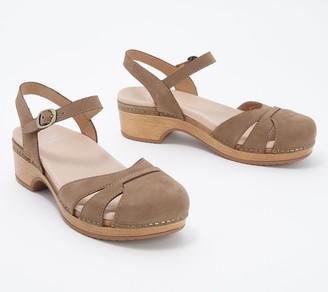 Dansko Milled Nubuck Leather Sandals - Betsey