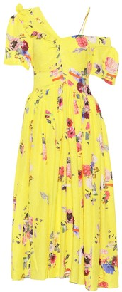 Preen by Thornton Bregazzi Domino silk-blend dress