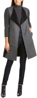 Forte Cashmere Forte Reversible Wool & Cashmere-Blend Vest