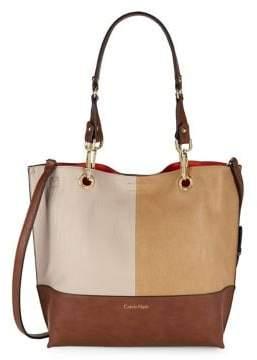Calvin Klein Colorblock Tote Bag