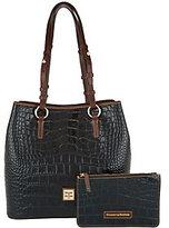 Dooney & Bourke As Is Croco Leather Shoulder Bag