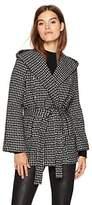 Jack by BB Dakota Women's Ilora Basket Weave Hooded Jacket