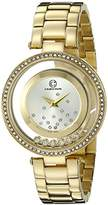 Cabochon Women's 80418-YG-02S Joya Analog Display Quartz Gold Watch