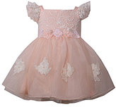 Bonnie Jean Bonnie Baby Baby Girls 12-24 Months Embroidered Lace Bodice Dress