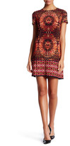 London Times Prism Shift Dress (Petite)