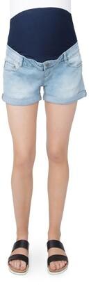 Ripe Denim Shorty Shorts