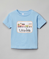 Swag Blue Train Personalized Tee - Infant
