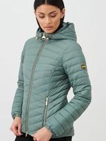Barbour International Ringside Quilted Jacket - Natural
