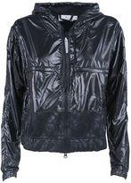 adidas by Stella McCartney Hooded Glossed-shell Jacket