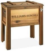 Williams-Sonoma Williams Sonoma Red Cedar Wood Beer Cooler