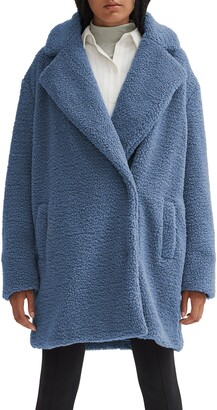 Noize Paloma Faux Shearling Coat