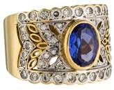 LeVian Le Vian 18K Tanzanite & Diamond Encore Cocktail Ring