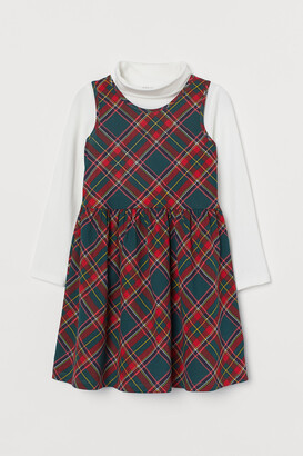 H&M 2-piece Cotton Jersey Set