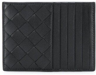 Bottega Veneta Woven Leather Cardholder