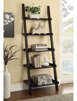 Bronx Ivy Thorson Ladder Bookcase Ivy Color: Cappuccino