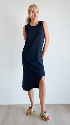 Frank And Eileen Relaxed Asymmetric Tank Dress