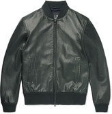 Dunhill Leather Bomber Jacket