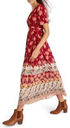 Madewell Tall Sunflowers Tulip Sleeve Maxi Dress (Regular & Plus Size)