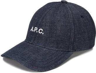 A.P.C. denim baseball cap