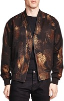 The Kooples Golden Leaves Printed Jacket