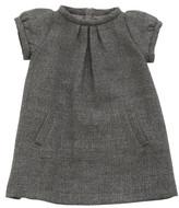 Il Gufo Lurex and Wool Shift Dress