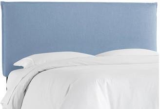 One Kings Lane Frank Headboard - Light Blue Linen - Twin