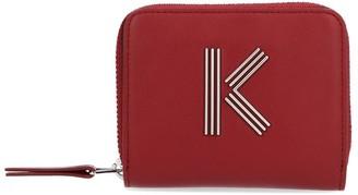 Kenzo K Logo Zipped Wallet