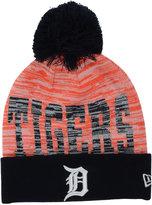 New Era Detroit Tigers Word Fuzz Knit Hat