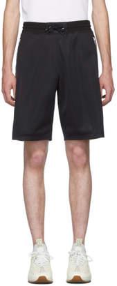 Givenchy Black Logo Tape Shorts