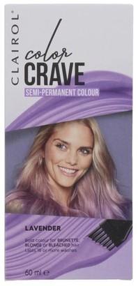 Clairol Color Crave 60ML Semi Permanent Hair Colour Lavendar