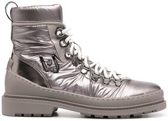 Liu Jo Metallic Hiking Boots