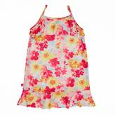 Nautica Little Girls' Watercolor Floral Swim Dress (2T-7)