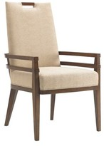 Tommy Bahama Island Fusion Coles Bay Upholstered Dining Chair Home Upholstery Color: Gold