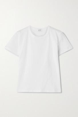 Leset Margo Cotton-jersey T-shirt - White